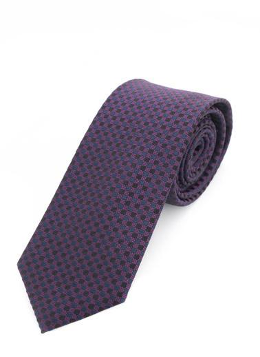Silk and Cashmere Kravat Bordo